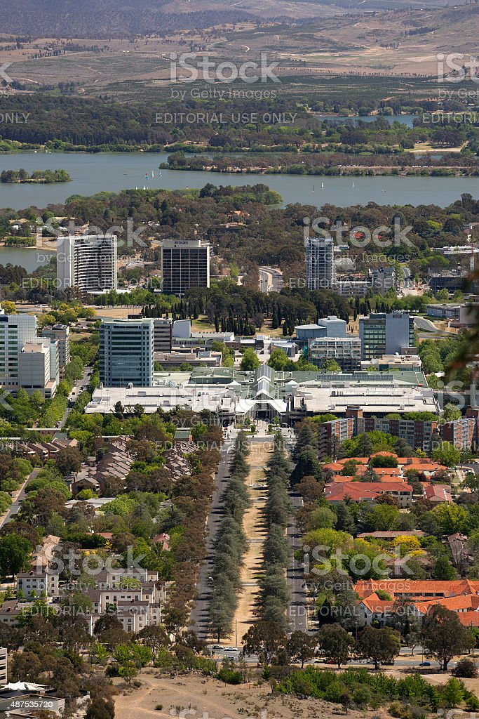 Canberra Centre Australia stock photo