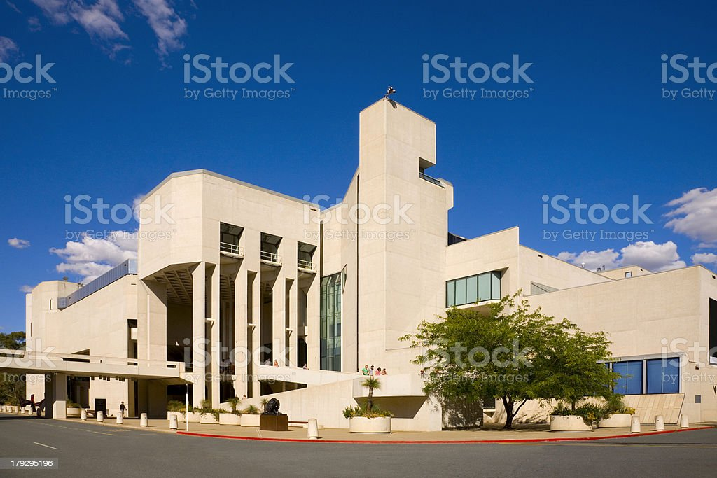 Canberra National Gallery of Australia stock photo
