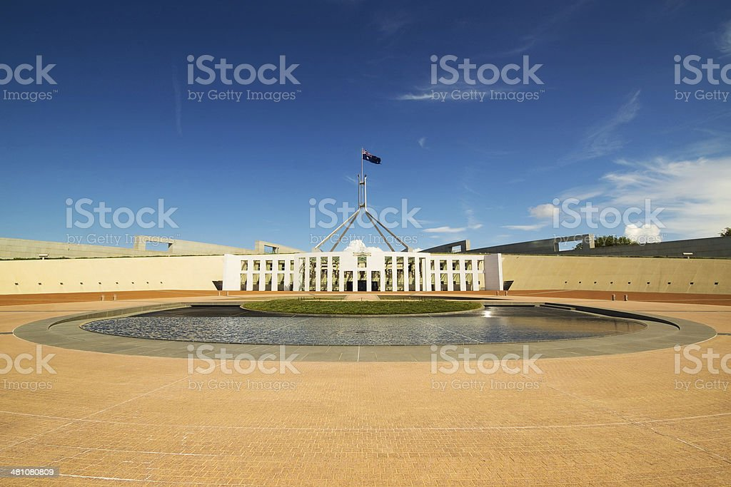 Canberra - Parliament House stock photo