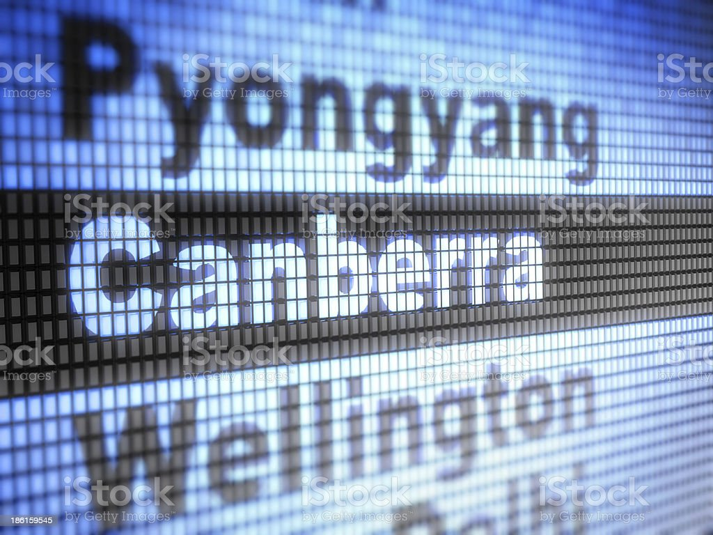 canberra royalty-free stock photo