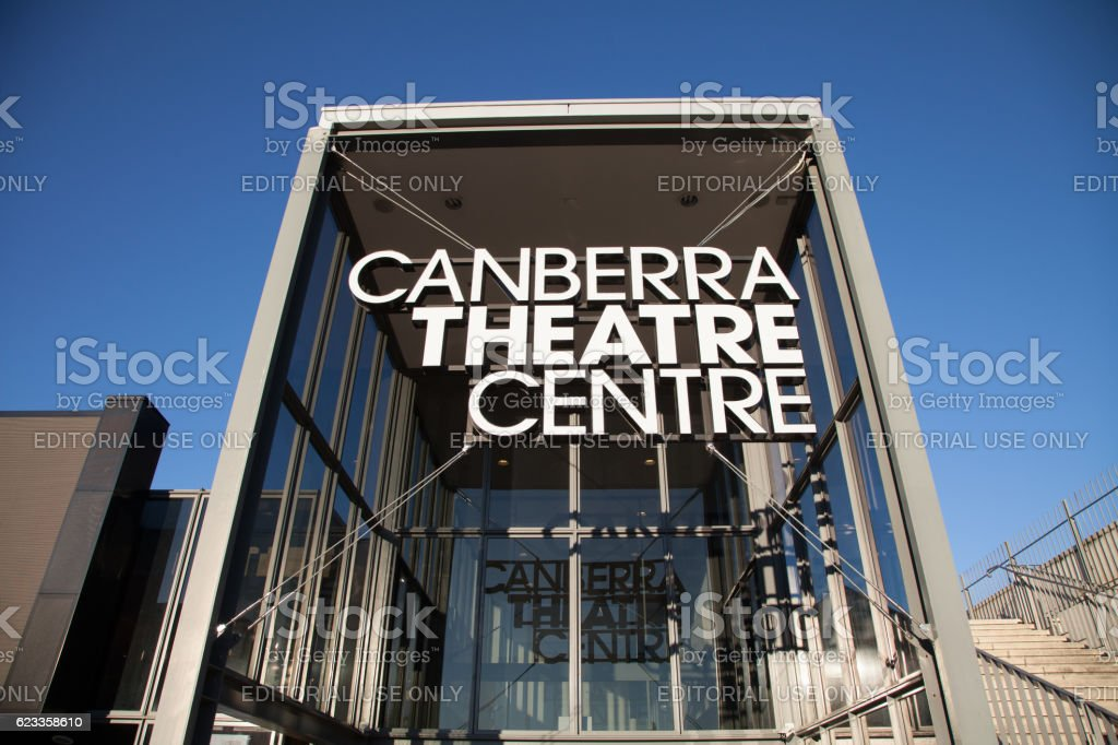 Canberra Theatre Centre stock photo