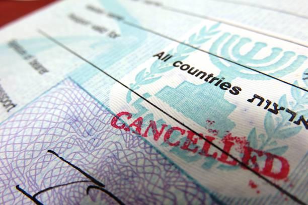Image result for canceled passport,