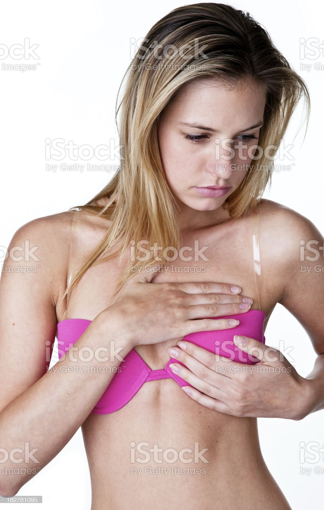 Cancer awareness concept royalty-free stock photo