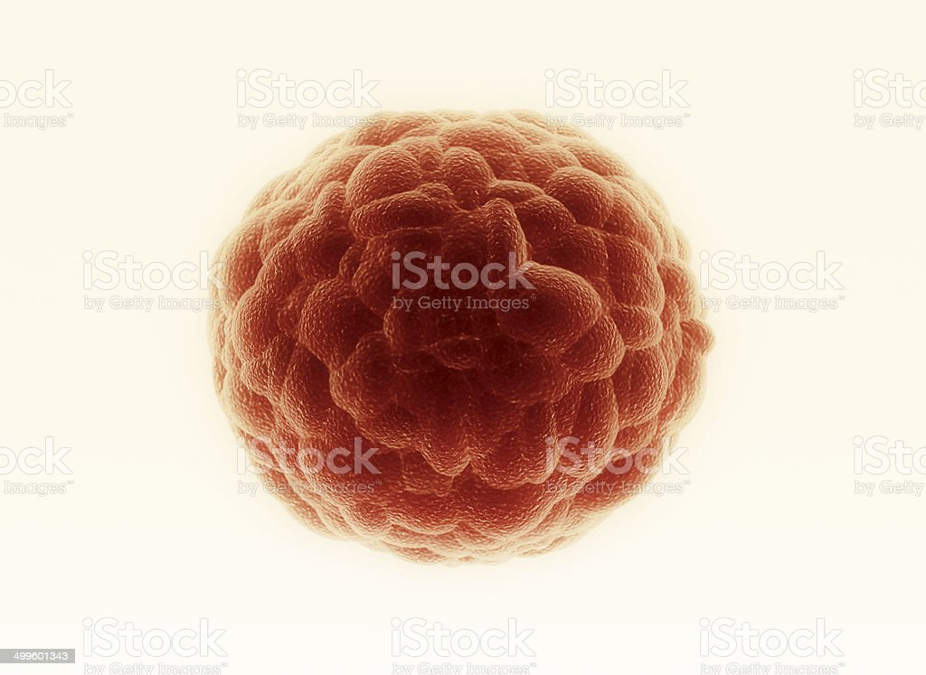 Cancer cell stock photo