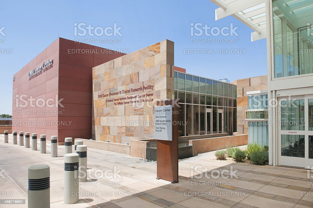 Cancer Center - Ultra Modern Research Facility and Hospital royalty-free stock photo