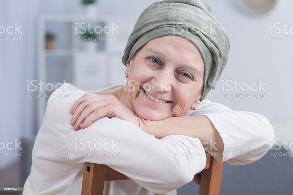 Cancer is not a sentence stock photo