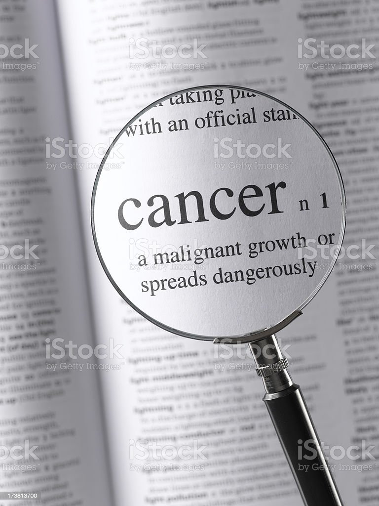 cancer royalty-free stock photo