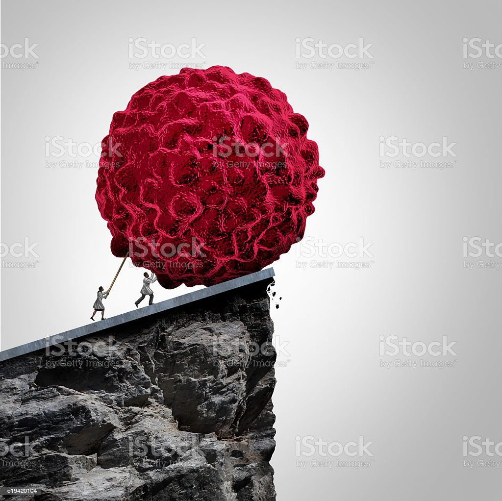 Cancer Research And Oncology stock photo