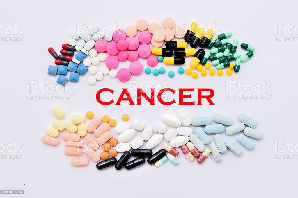 Cancer treatment stock photo