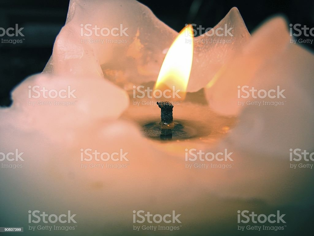 Candel royalty-free stock photo
