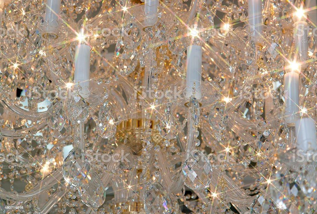 candelabrum detail stock photo
