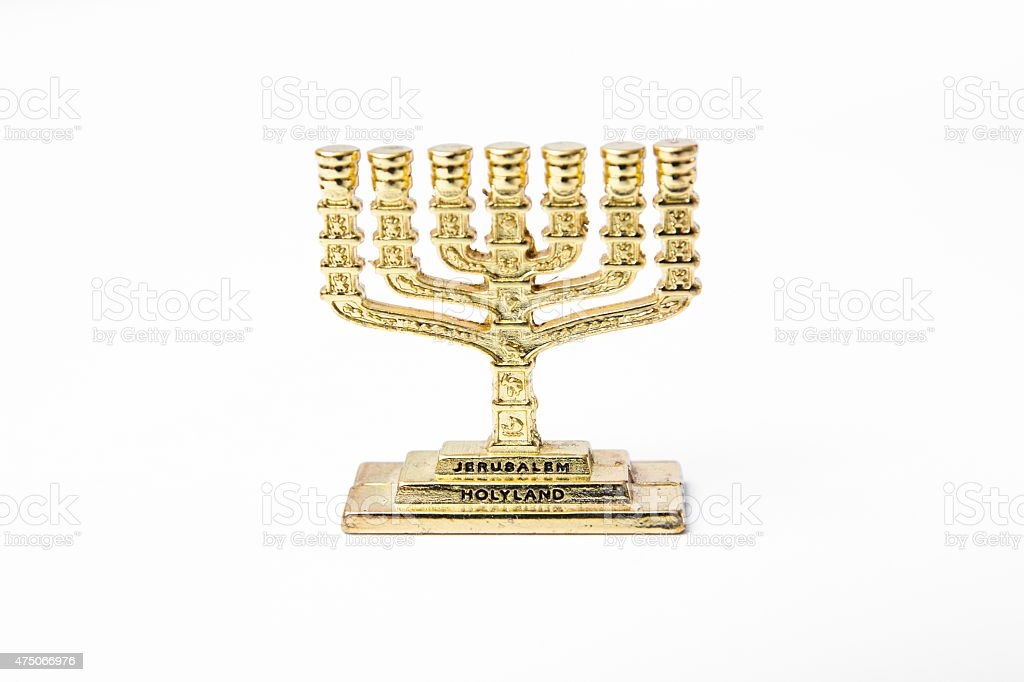 Candelabrum stock photo