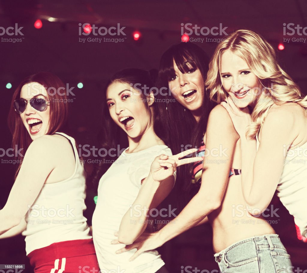Candid Friends Moment royalty-free stock photo