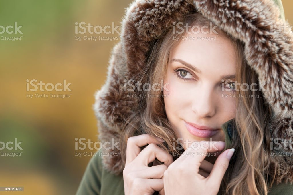 Candid Outdoor Portrait (XXXL) royalty-free stock photo