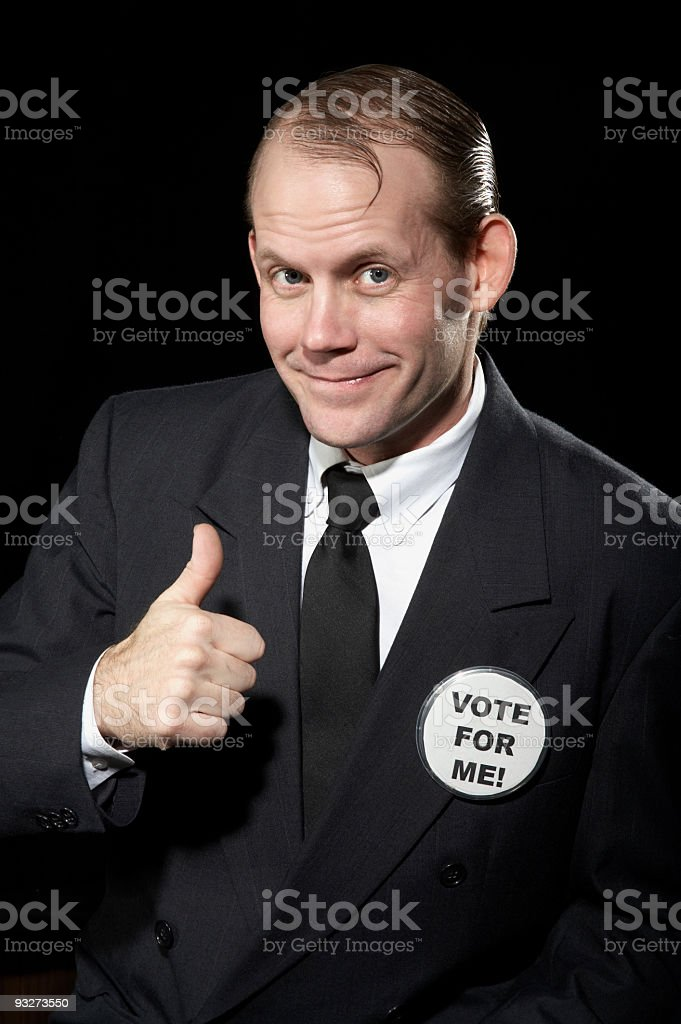 Candidate royalty-free stock photo