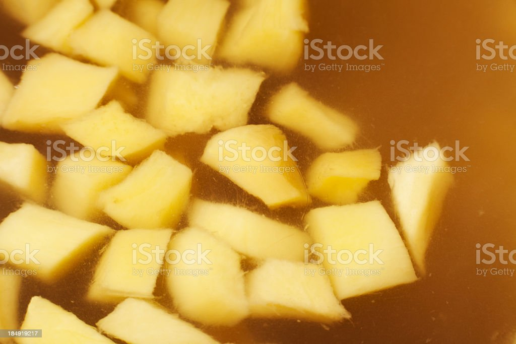 Candied ginger stock photo