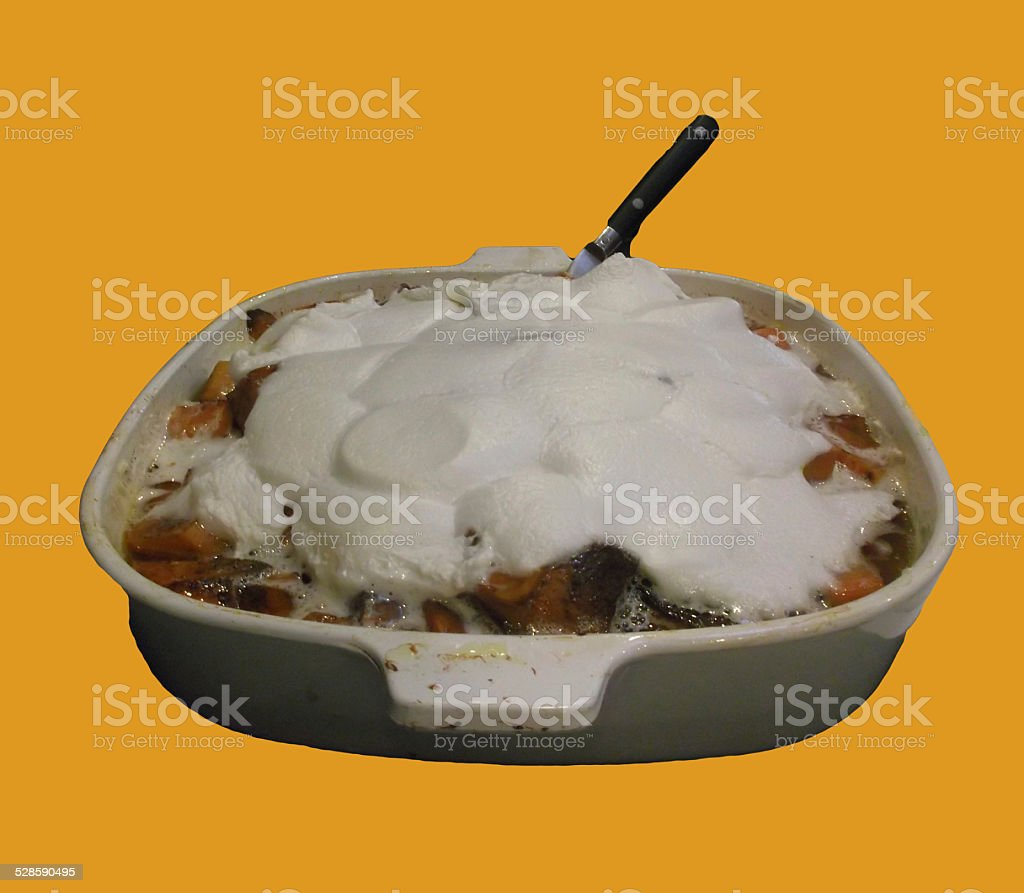 Candied Yams 2 stock photo