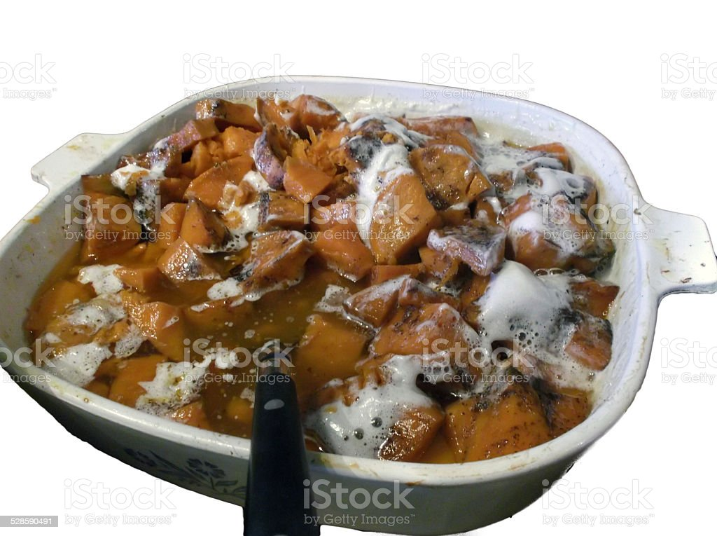 Candied Yams stock photo