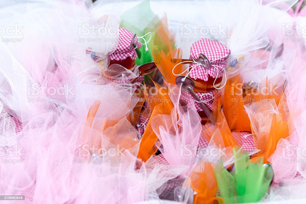 Candies and sweets . stock photo