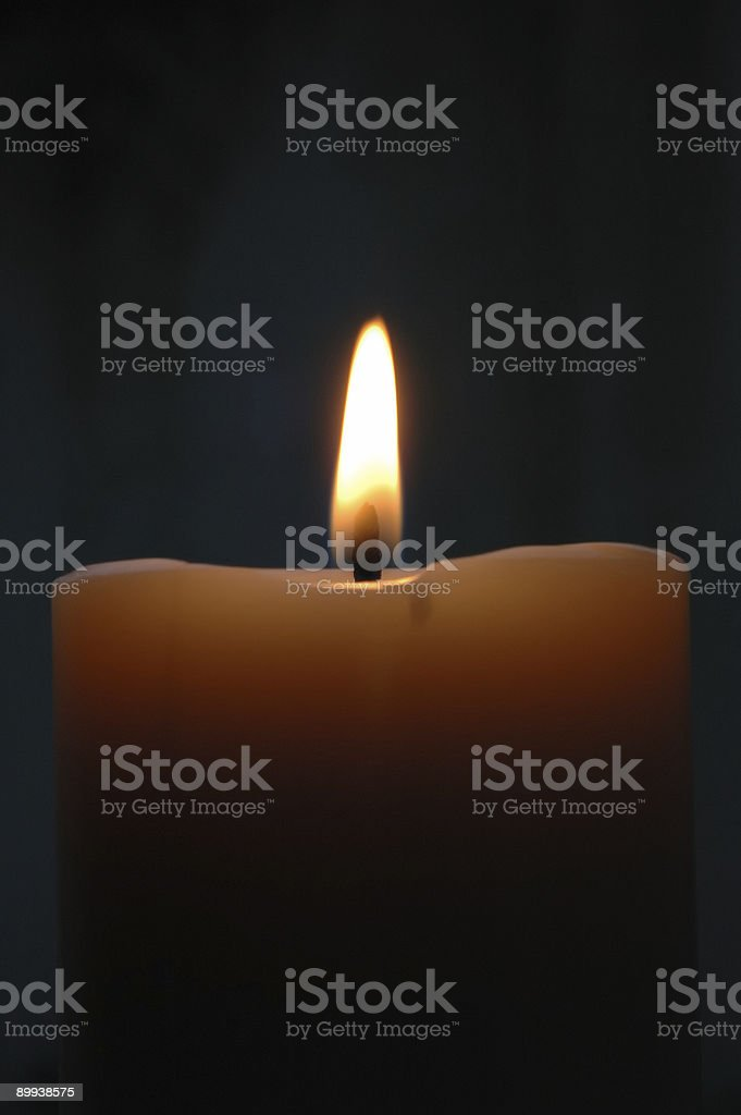 Candle 3 stock photo