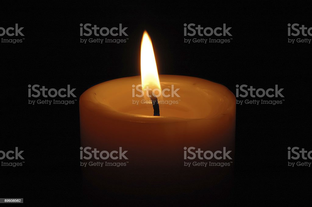 Candle 4 stock photo