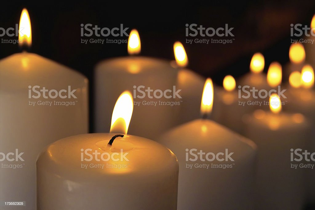 Candle Abstract royalty-free stock photo