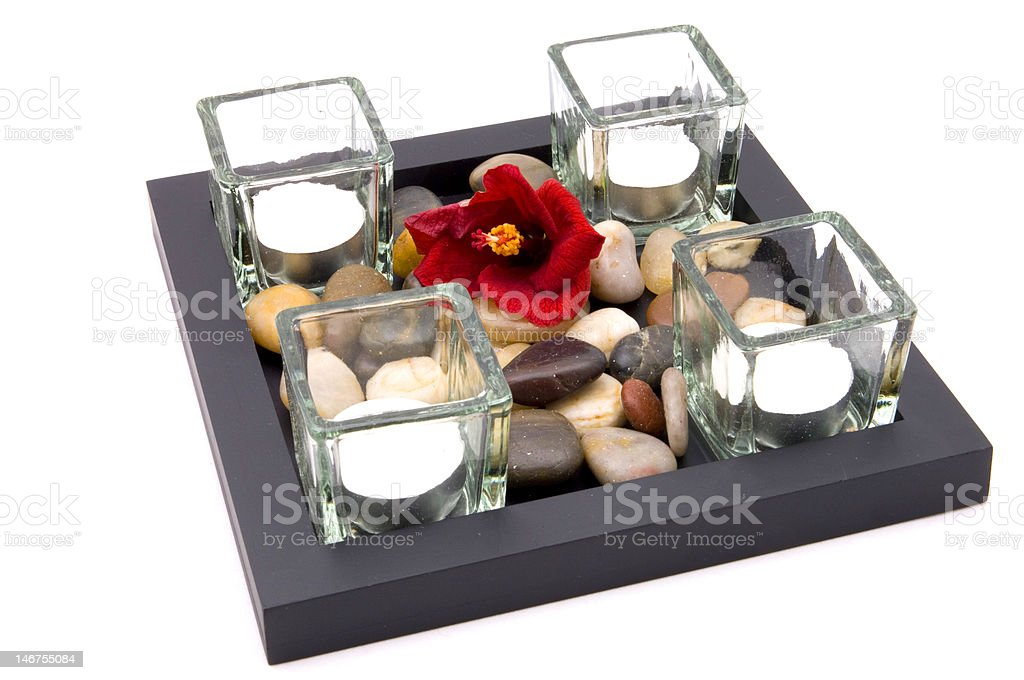 candle accessories decoration stock photo