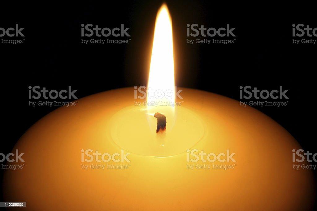 candle closeup royalty-free stock photo