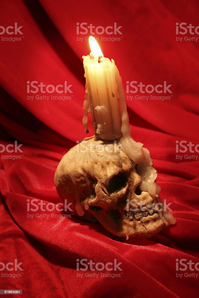 candle drama royalty-free stock photo