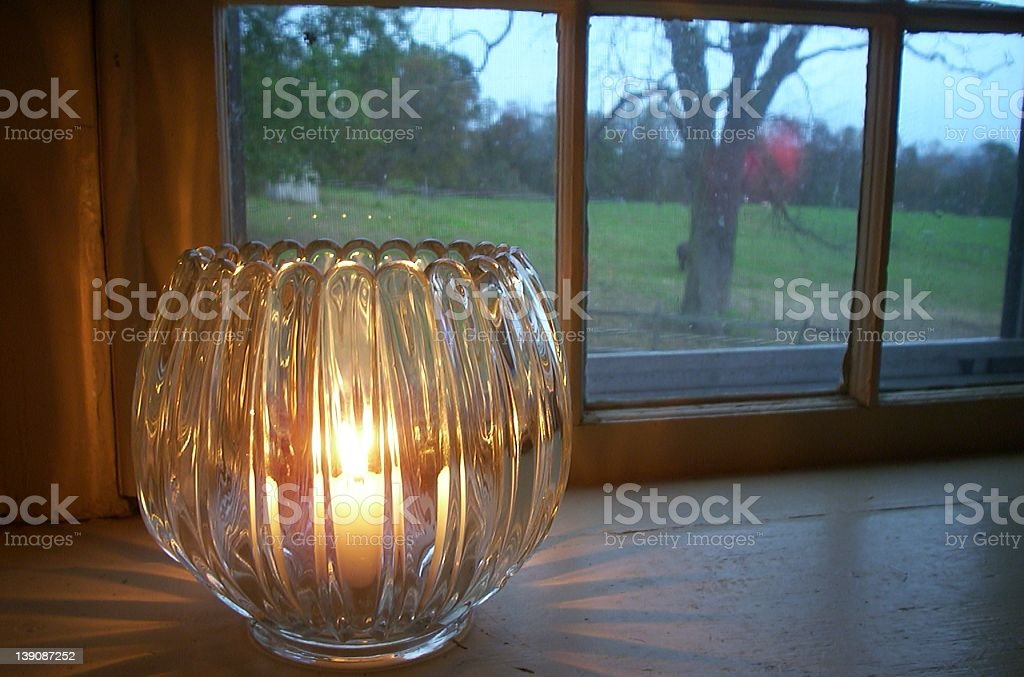 Candle Glow royalty-free stock photo