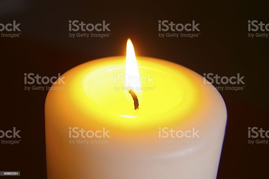 Candle Light 1 royalty-free stock photo