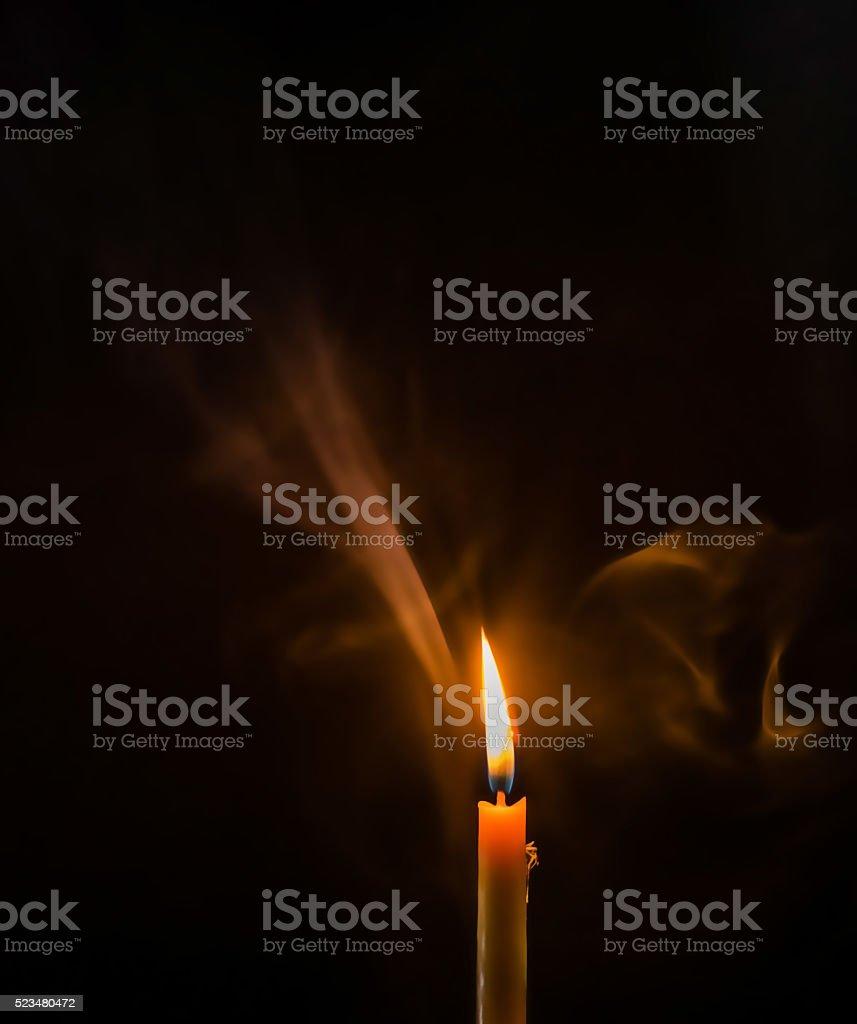 Light In Dark Room dark room with candle light