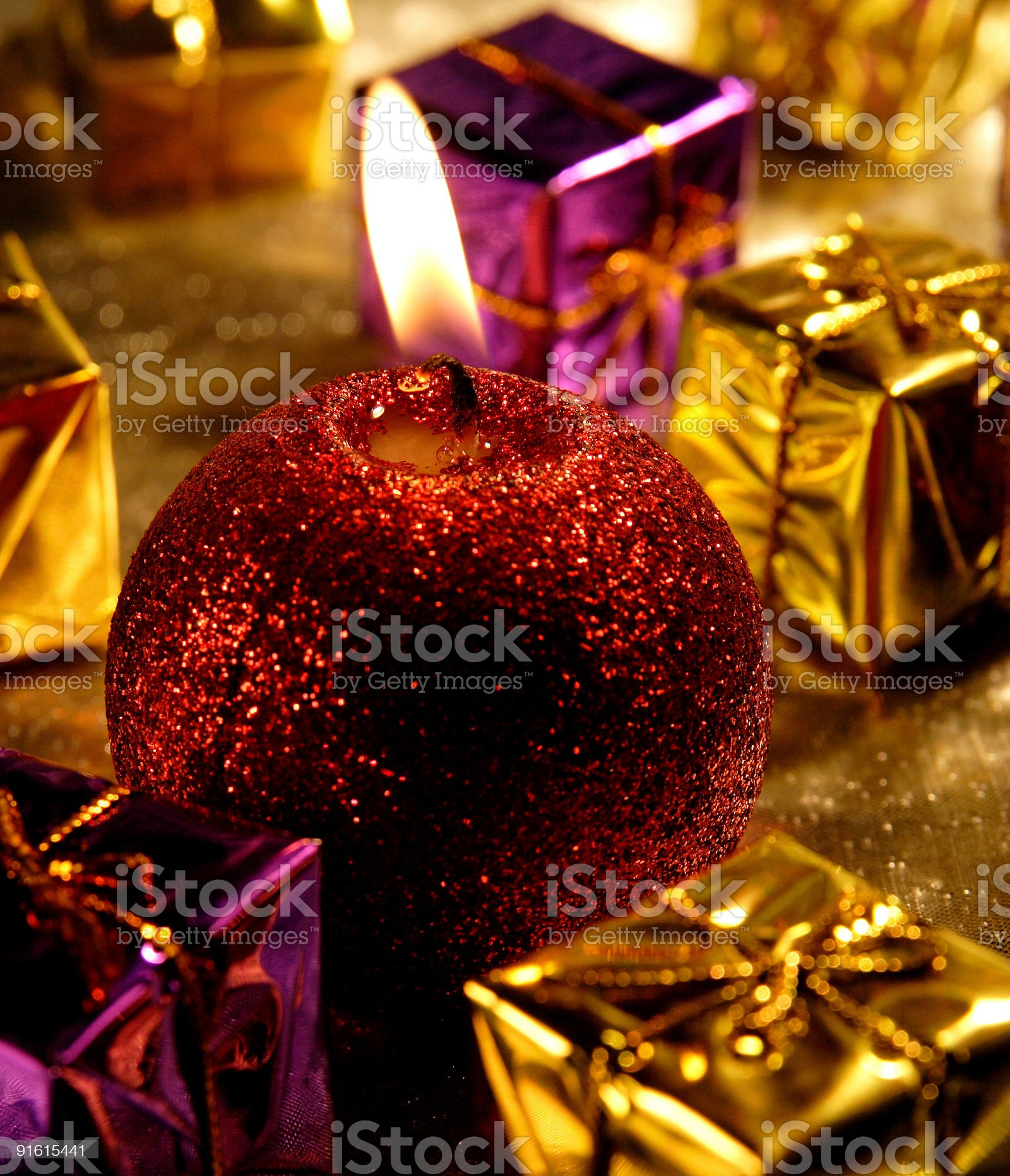 Candle royalty-free stock photo