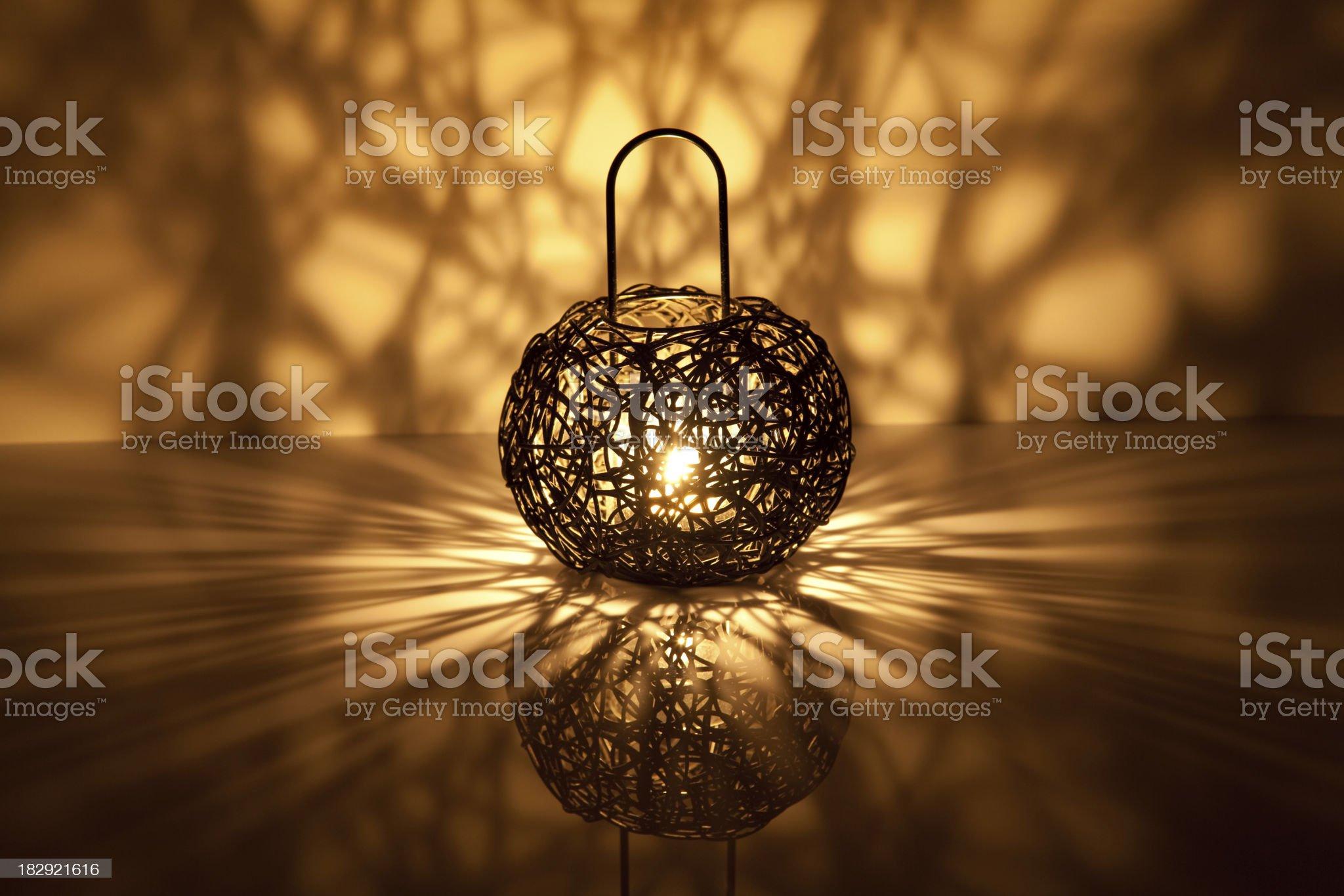 candle shining royalty-free stock photo