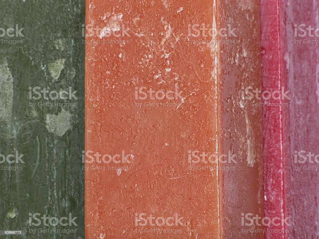 Candle Texture II royalty-free stock photo