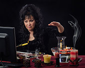 Candle wax reading online
