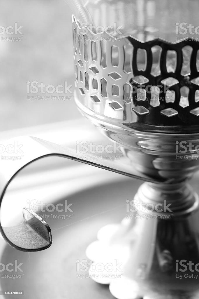 Candleholder stock photo