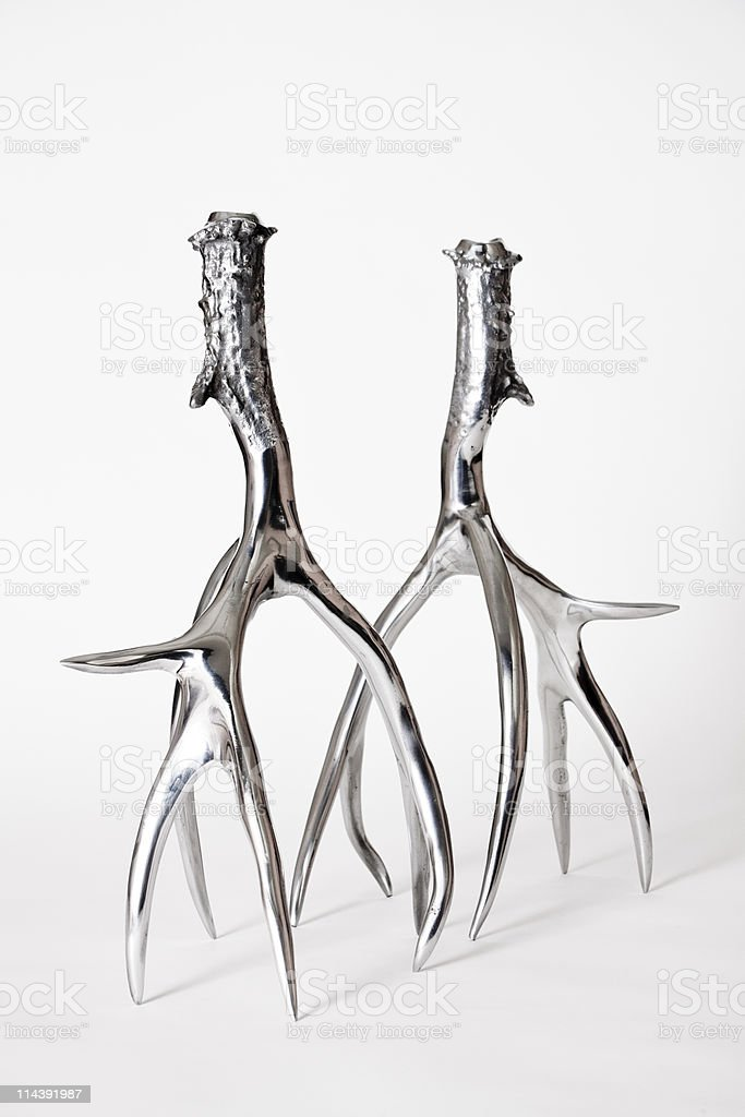 Candleholders stock photo