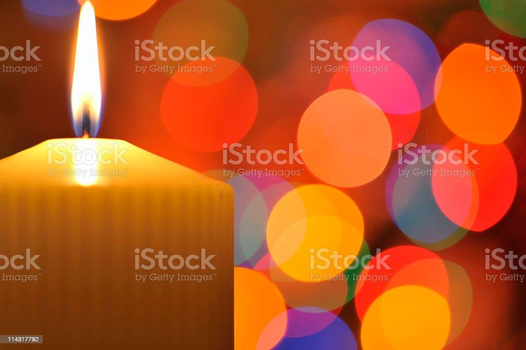 Candlelight Background royalty-free stock photo