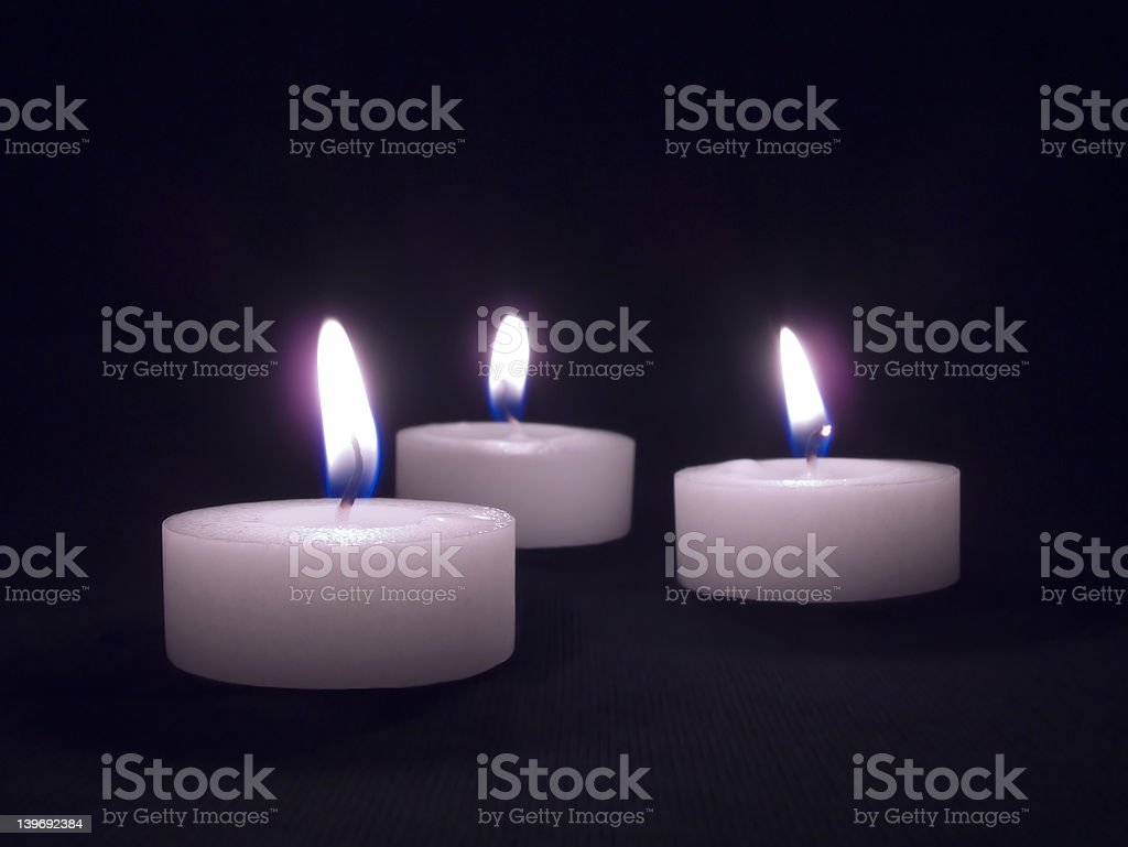 Candlelight royalty-free stock photo