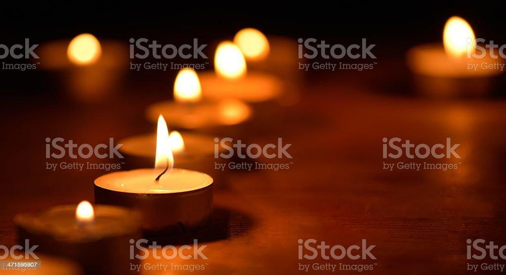 candlelight royalty-free stock photo