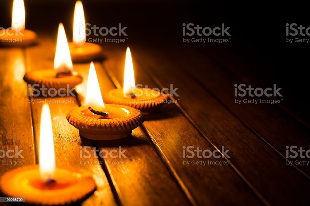 candlelight stock photo