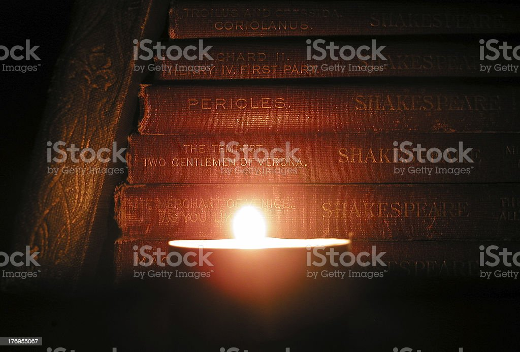 Candlelit Classics stock photo