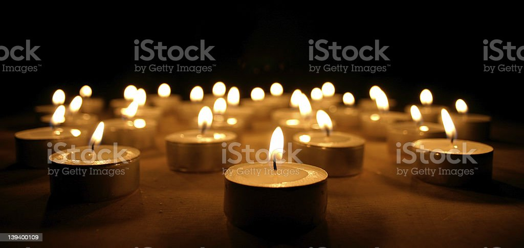 candles 02 stock photo