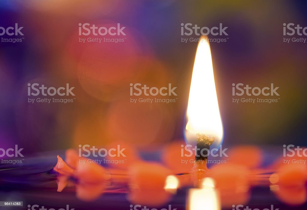 Candles & Colors stock photo