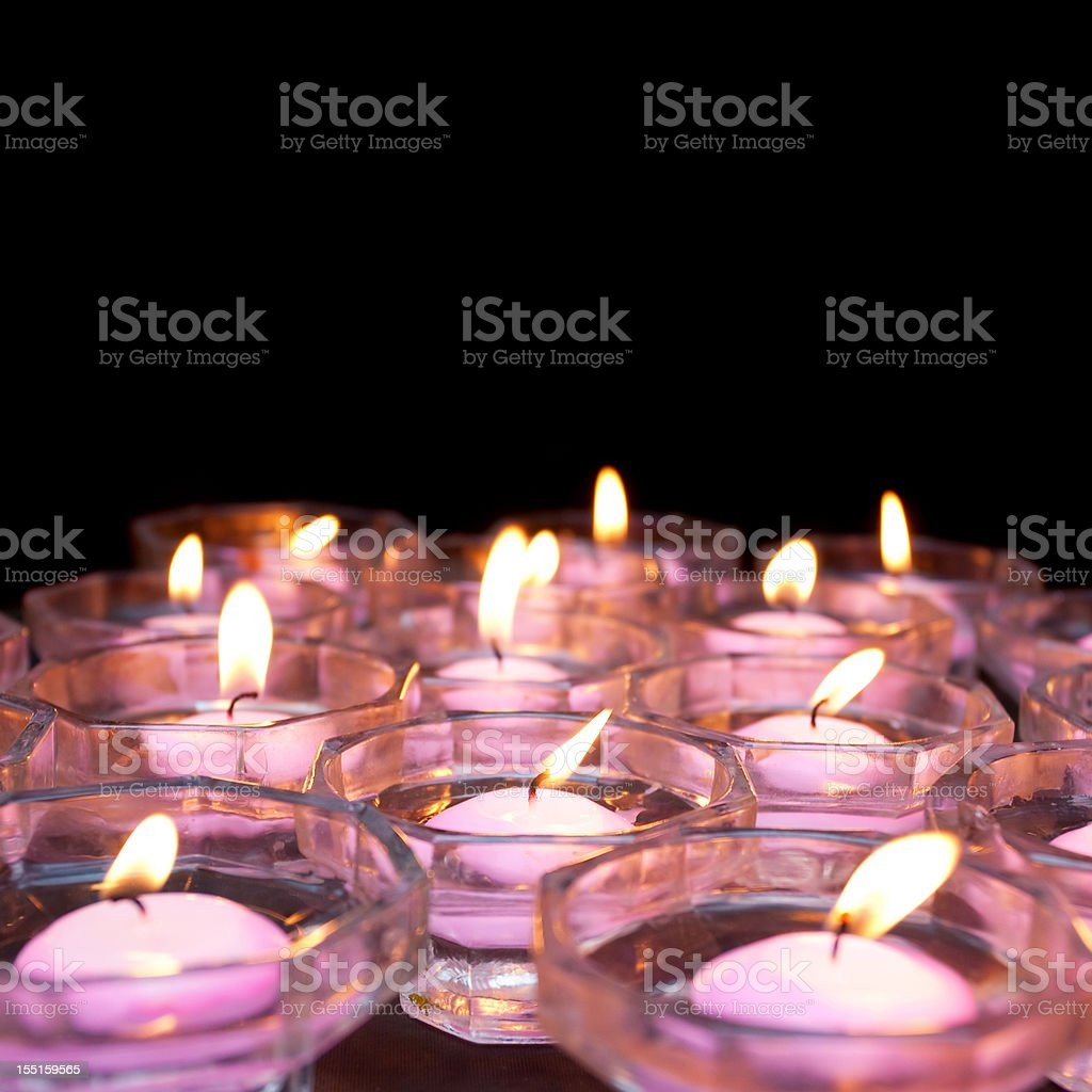 Candles (XXL) royalty-free stock photo