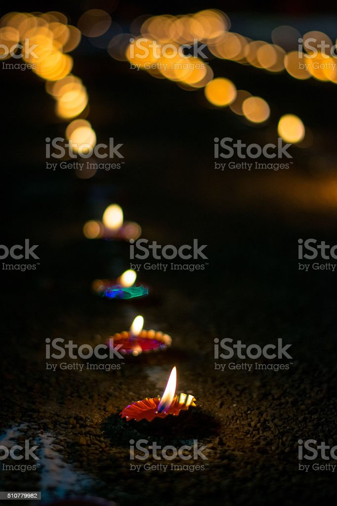 Candles!! stock photo