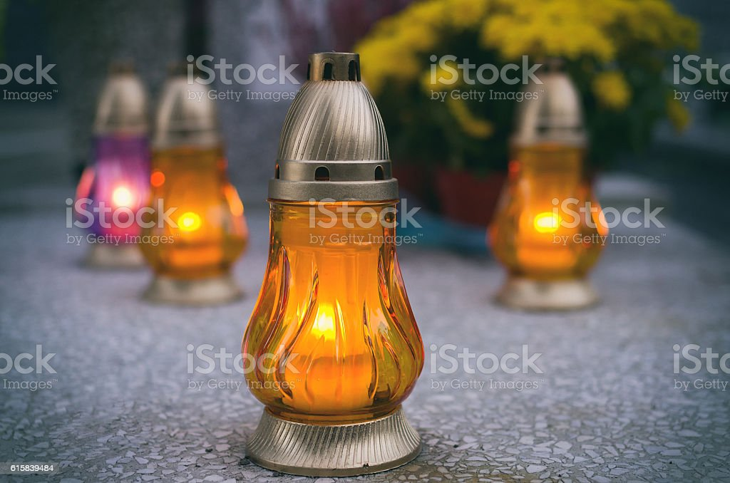 Candles. stock photo