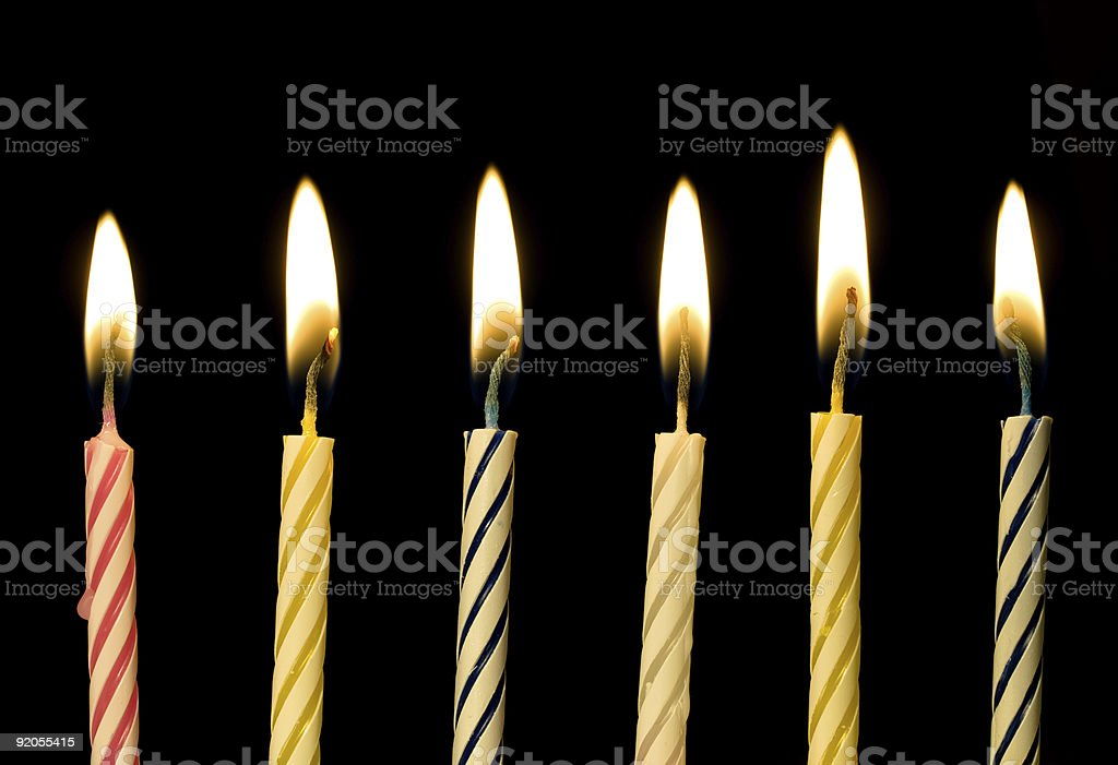 Candles royalty-free stock photo