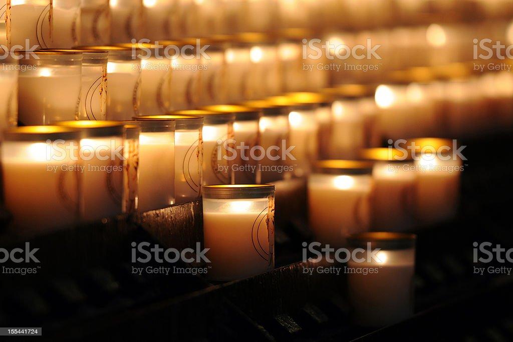 Candles - XLarge stock photo